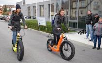 Jihoczech – příběh jihočeských elektrokoloběžek Hugo Bike