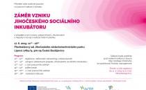 Jihočeský sociální inkubátor - workshop