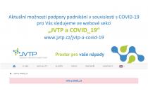 JVTP a COVID-19