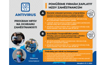 K dnešnímu dni byl spuštěn Antivirus, program MPSV na podporu zaměstnanosti v ČR