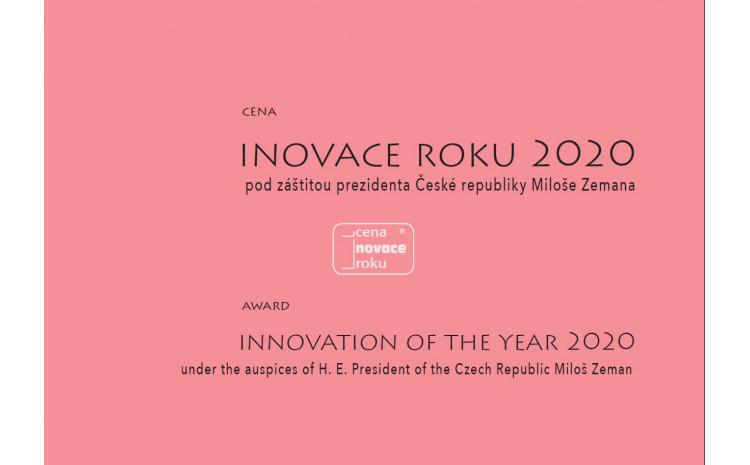 Vyhlášení soutěže o Cenu Inovace roku 2020