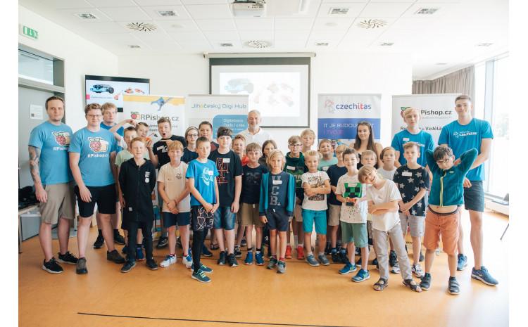 Projekt Jihočeský Digi Hub učí děti programovat