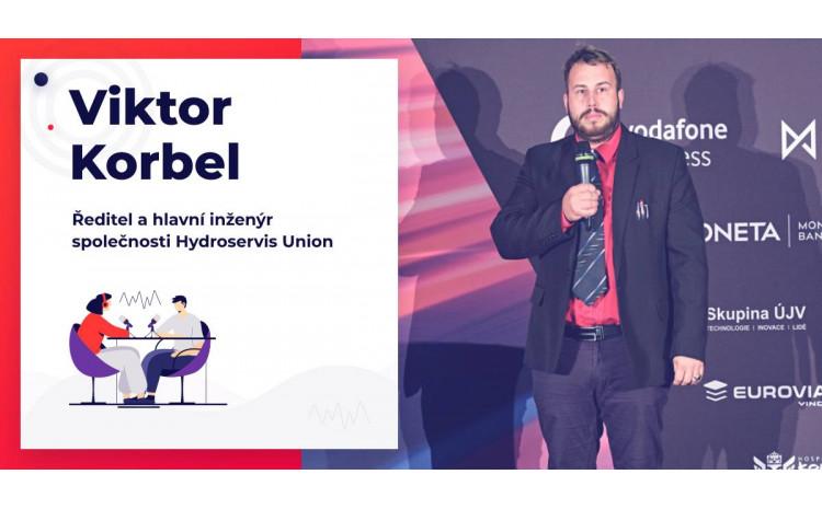 Viktor Korbel, vítěz soutěže Jihoczech 2019, v rozhovoru pro Jihočeský podcast