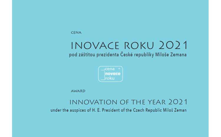 Vyhlášení soutěže o Cenu Inovace roku 2021