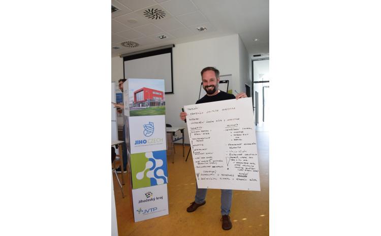 Jihoczech Startup Camp v JVTP