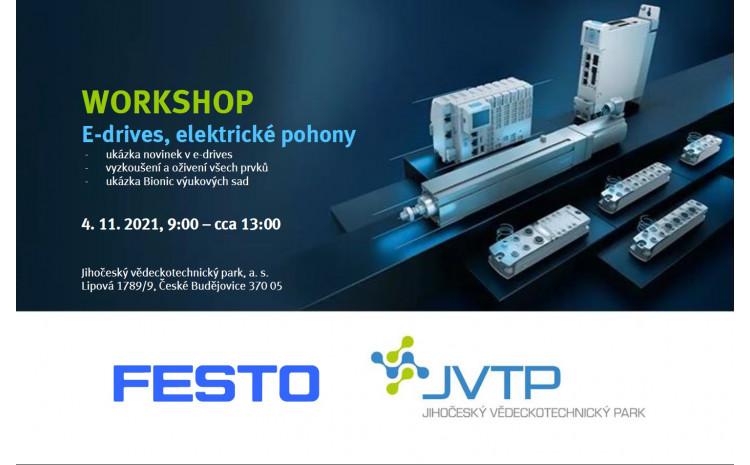 Workshop průmyslové automatizace  v JVTP s FESTO