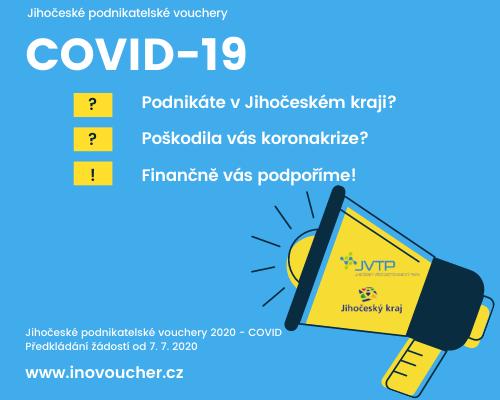 Jihočeské podnikatelské vouchery COVID