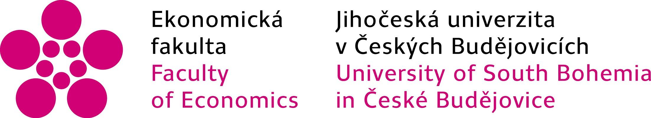 Ekonomická fakulta logo